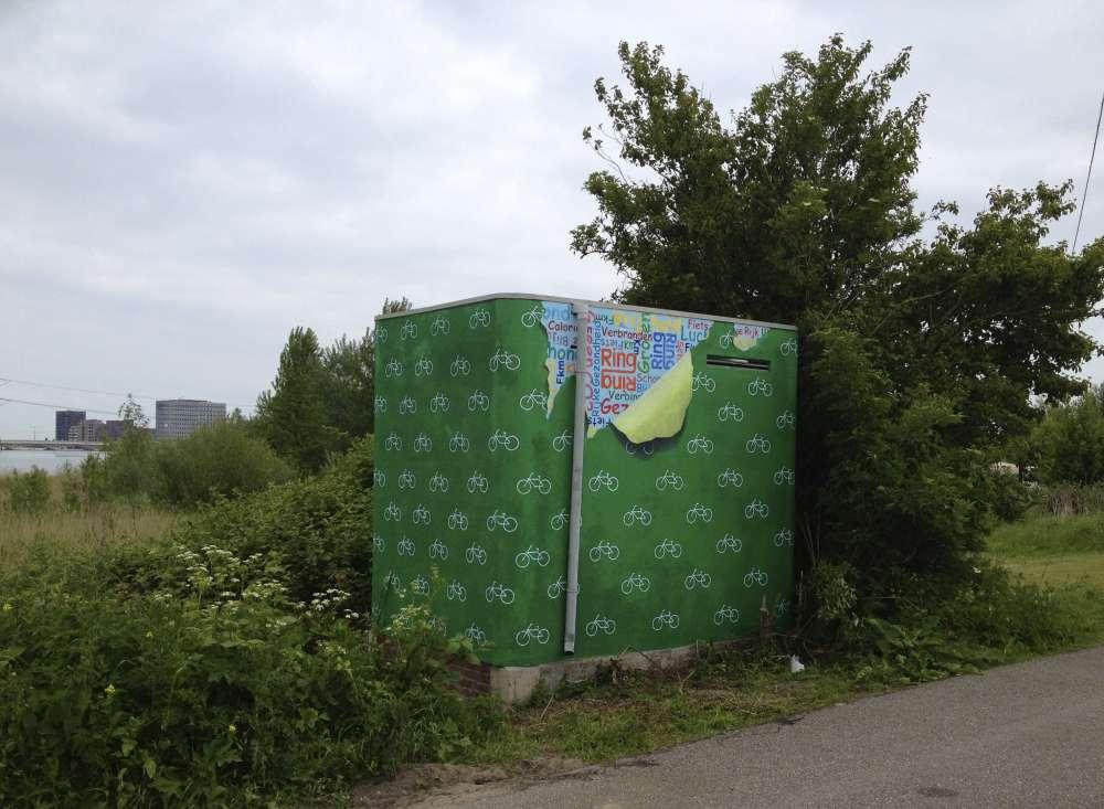 Electriciteitshuisje Amsterdam