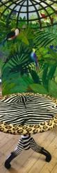 Jungle-fever in combi met zebratafel