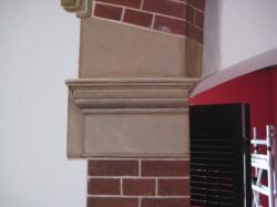 Detail zijsteun
