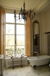 Gedecoreerde badkamer