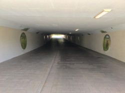 Fietstunnels in Amsterdam Westelijk Havengebied