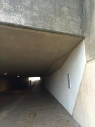 Fietstunnel VOOR