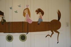 Kinderkamerbeschildering