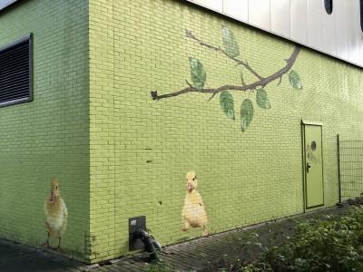 Bedieningshuis2 Nieuwe Hemweg NA beschildering