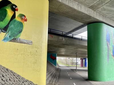 onderdoorgang A10 en Gooiseweg Amsterdam